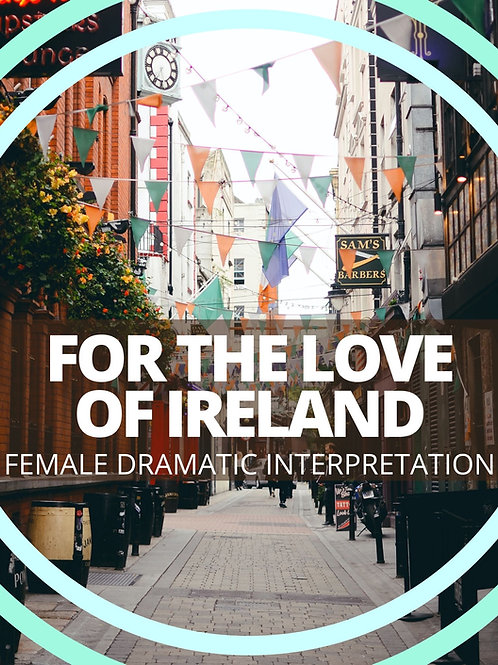 Female-For the Love of Ireland