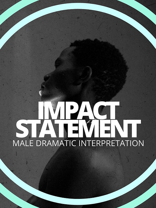 Male- Impact Statement