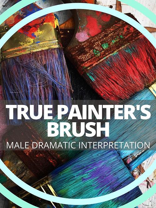 Male- True Painter's Brush