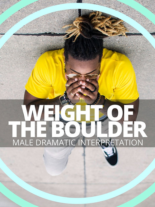 Male- Weight of the Boulder