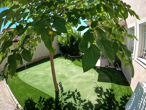 Putting Green Antibes - Sud gazon Synthe