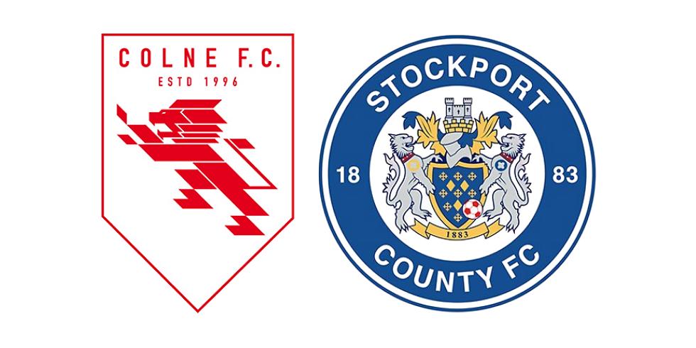 Colne F.C. vs Stockport County F.C.