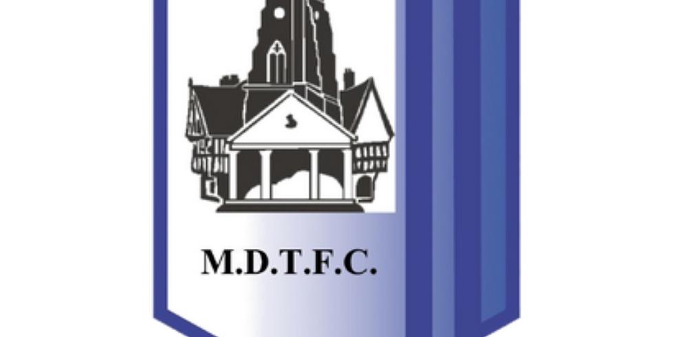 Market Drayton Town F.C.  F.C. vs Colne F.C.