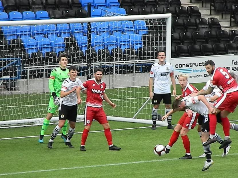 Widnes F.C. 1 - 1 Colne F.C.