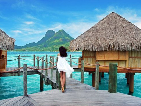 Sexiest Honeymoon Resorts in Bora Bora
