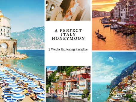 A Perfect Honeymoon in Italy