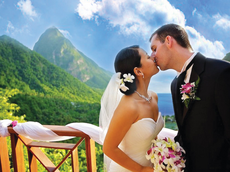My Favorite Honeymoon Resort in St Lucia:  Ladera Review