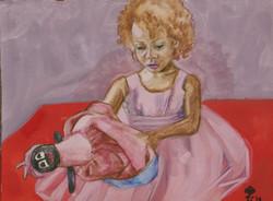 Scarlett with Doll #3