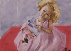 Scarlett with Doll #1