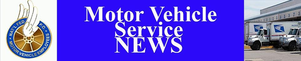 Motor Vehicle news of NWIAL, APWU