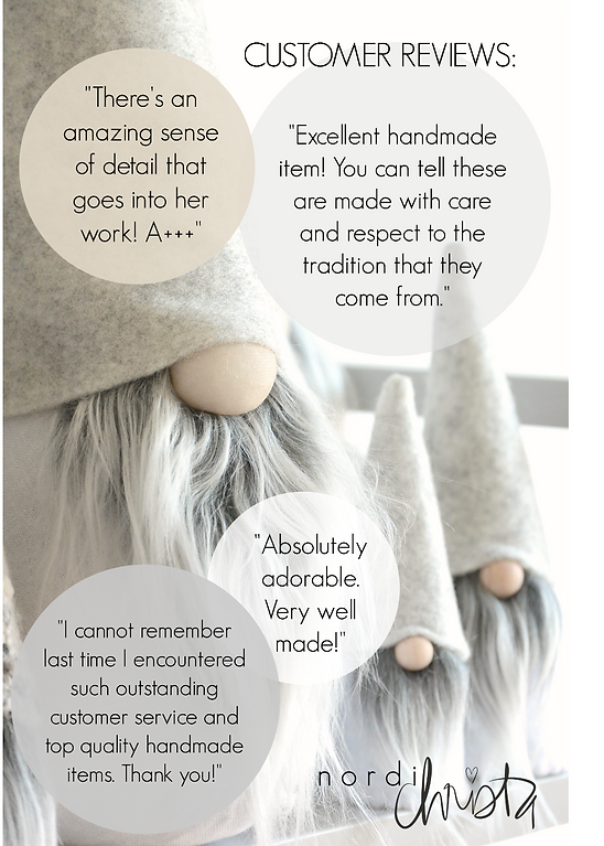 Artisan Made Scandinavian Gnome/Tomte by Nordichrista | Nordic Gnome™