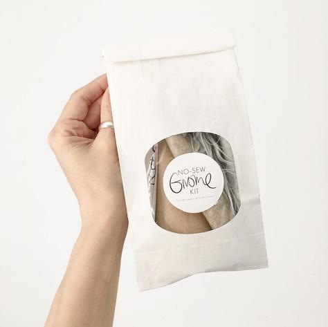 No Sew Gnome Kit by the Creators of Nordic Gnome®