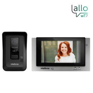 Video Porteiro Allo Wt7 Wifi Intelbras