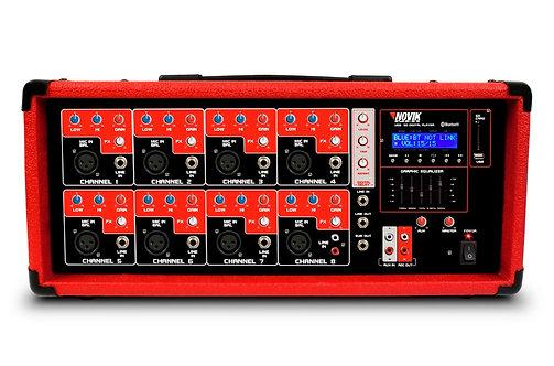 Amplificador Potência Cabeçote Novik NVK 8500 BT