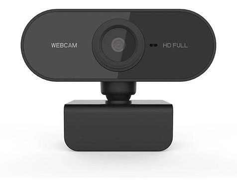 Webcam Full Hd 1080p Usb Mini Câmera Computador C/ Microfone