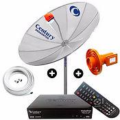 Antena Parabólicas analogica digital e HDTV