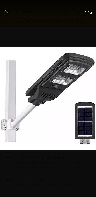 Publica Poste Energia Solar 90w Sensor E Controle