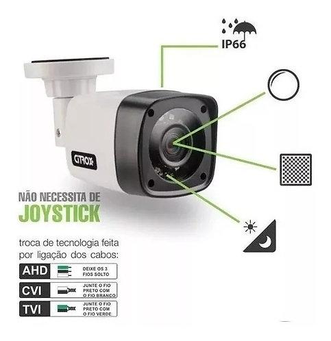 Câmera Bullet Citrox Hd Multi Ahd Cvi Tvi Cx2520 720p