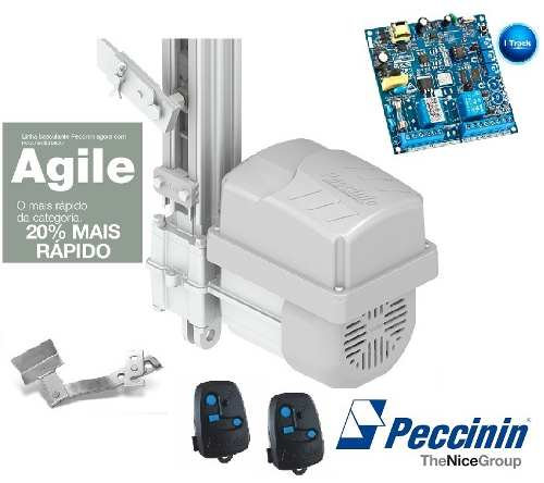Kit Motor Portão Basculante 2000 1/3 Cv Agile S Peccinin