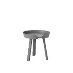 Muuto Table Aroung grey, small