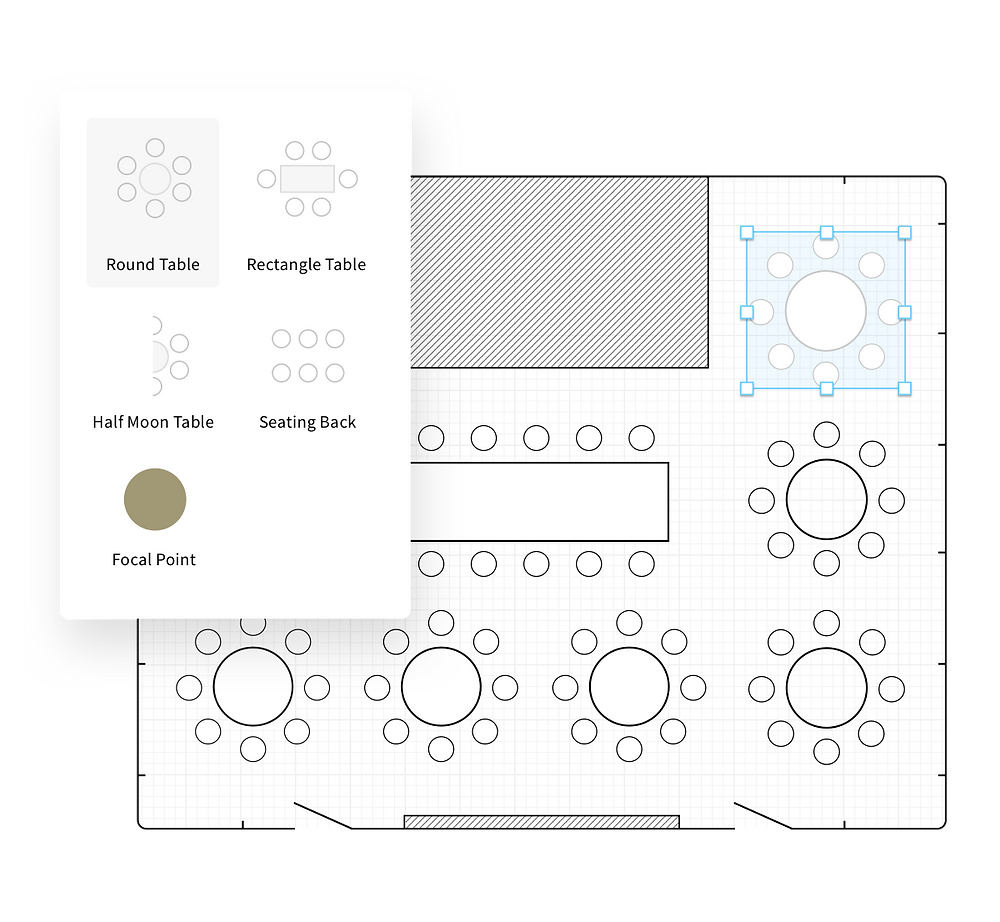Dynamic Seating Chart Feature