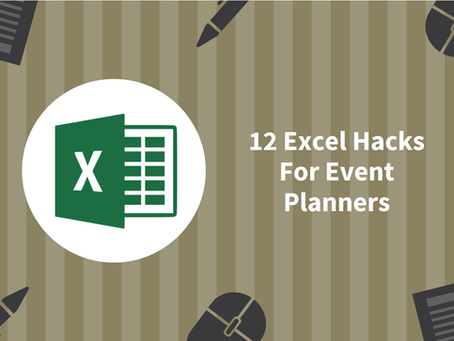 12 Must-Know Excel Hacks For Event Planners