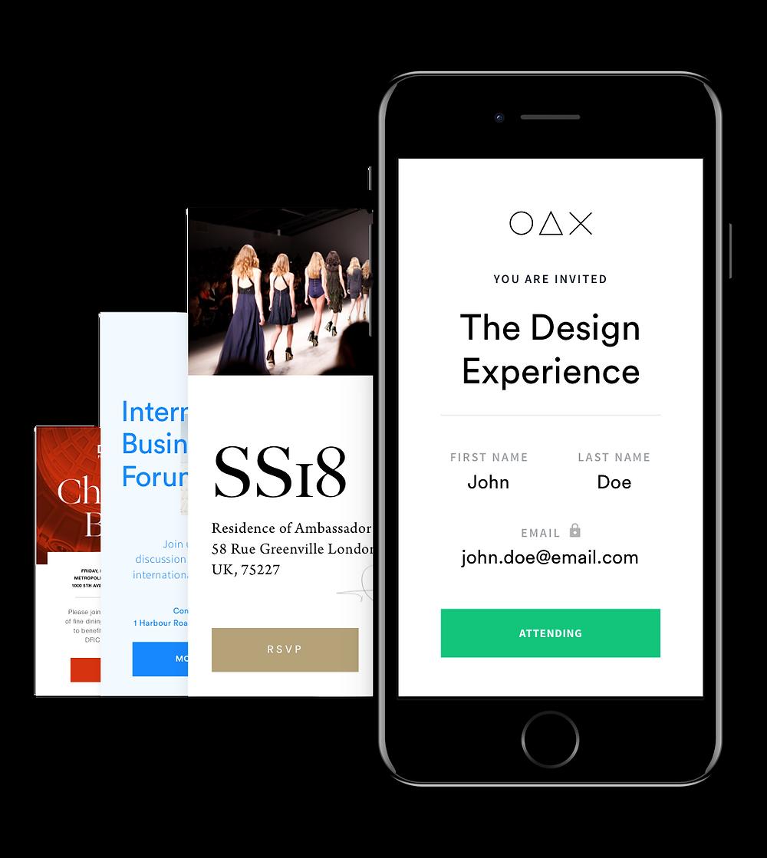Design your invitation & RSVP form