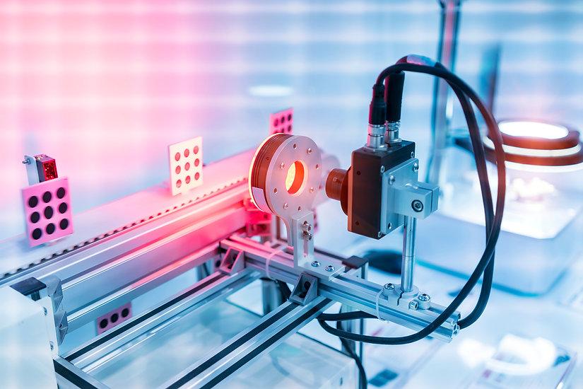Robotic vision sensor camera system in i