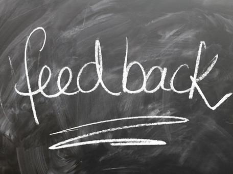 Using feedback