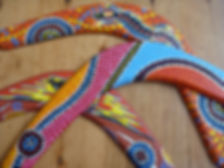 Boomerang Native Art Blank Boomerangs NAIDOC Education