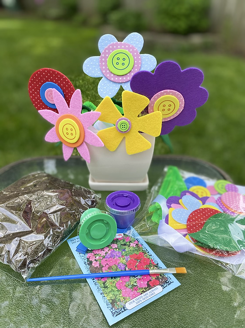 Flower Pot Craft Kit