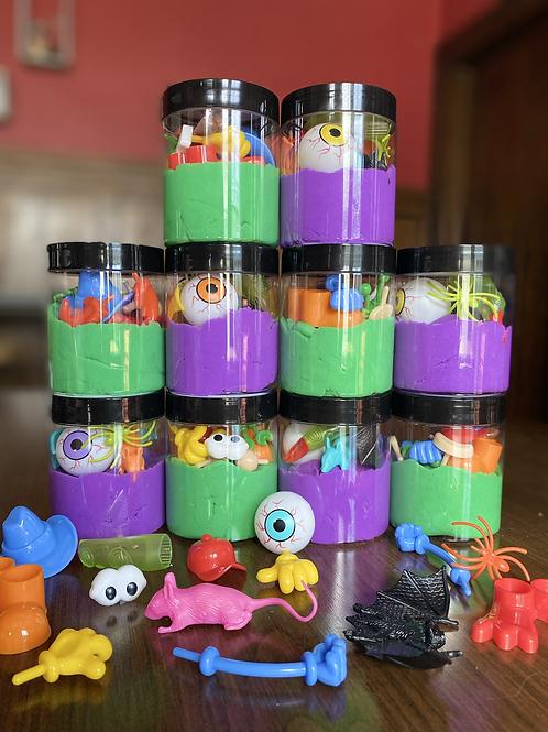 Halloween Buffa-Doh Jars