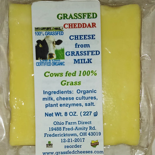 Cheddar Grassfed Cow's Milk Cheese 2