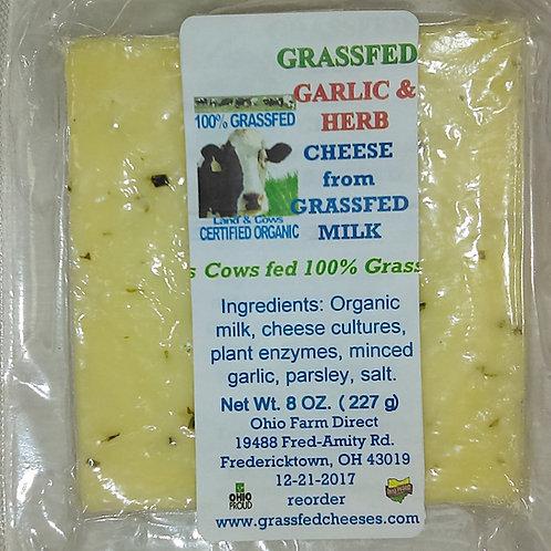 Garlic & Herb Grassfed Cheese 1