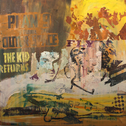 The kid returns, 80x80 cm