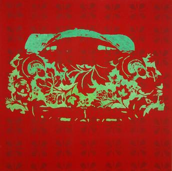 Autocolour 2, 80x80 cm