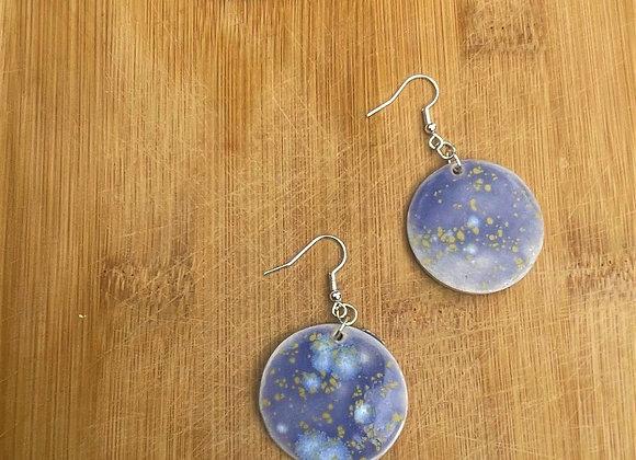 Moon Lichen Earring