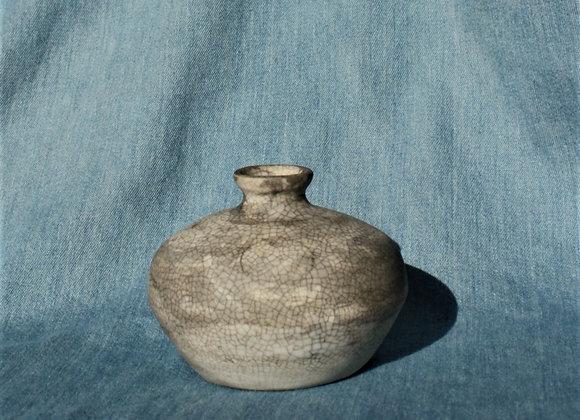 Crackle Ink vase