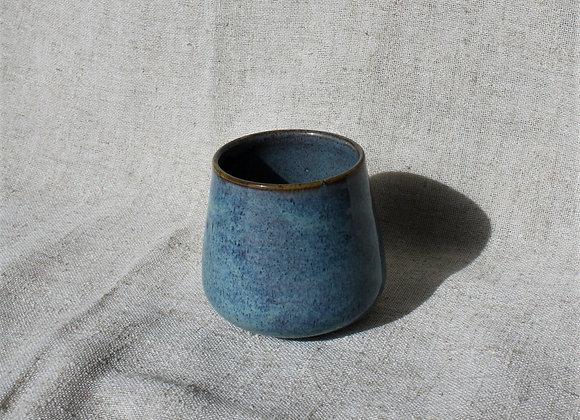 Tart Blues Stemless Wine Glass