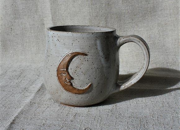 Sweet Speckled Crescent Moon Mug