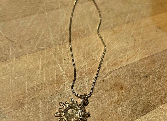 Queen Anne's Lace Celestial Necklace