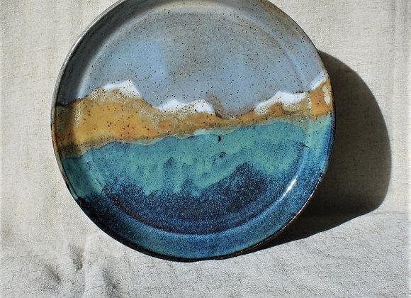 Snowcaps Landscape Plate
