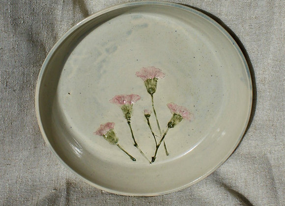 Shallow Floral Dish