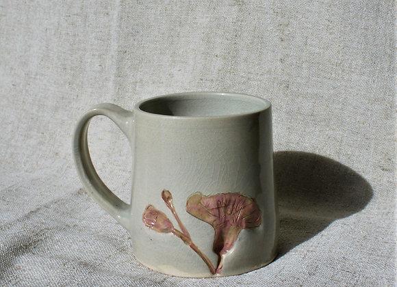 Abloom Pink Floral Mug