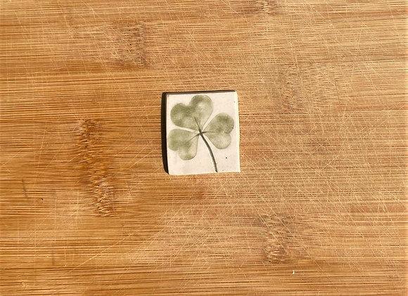 Single Lucky Clover Tile