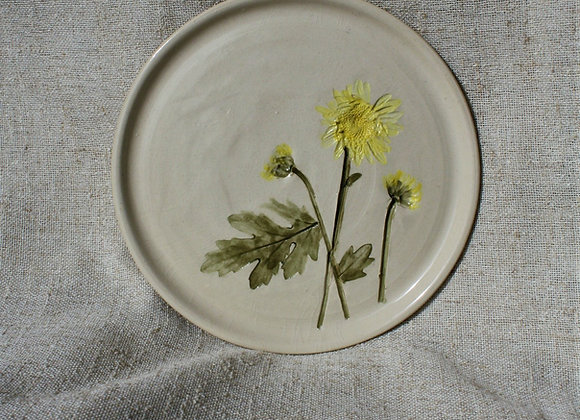 Meadow Daisy Plate