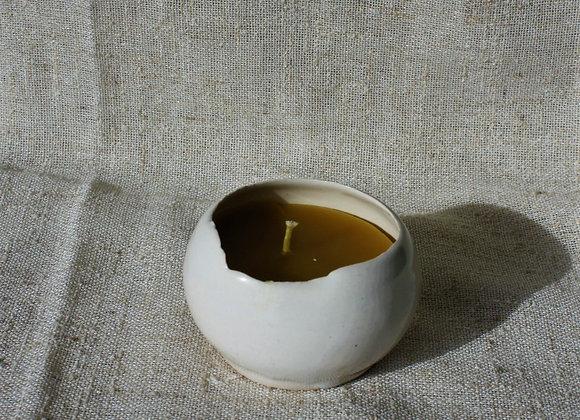 Eggshell Votive