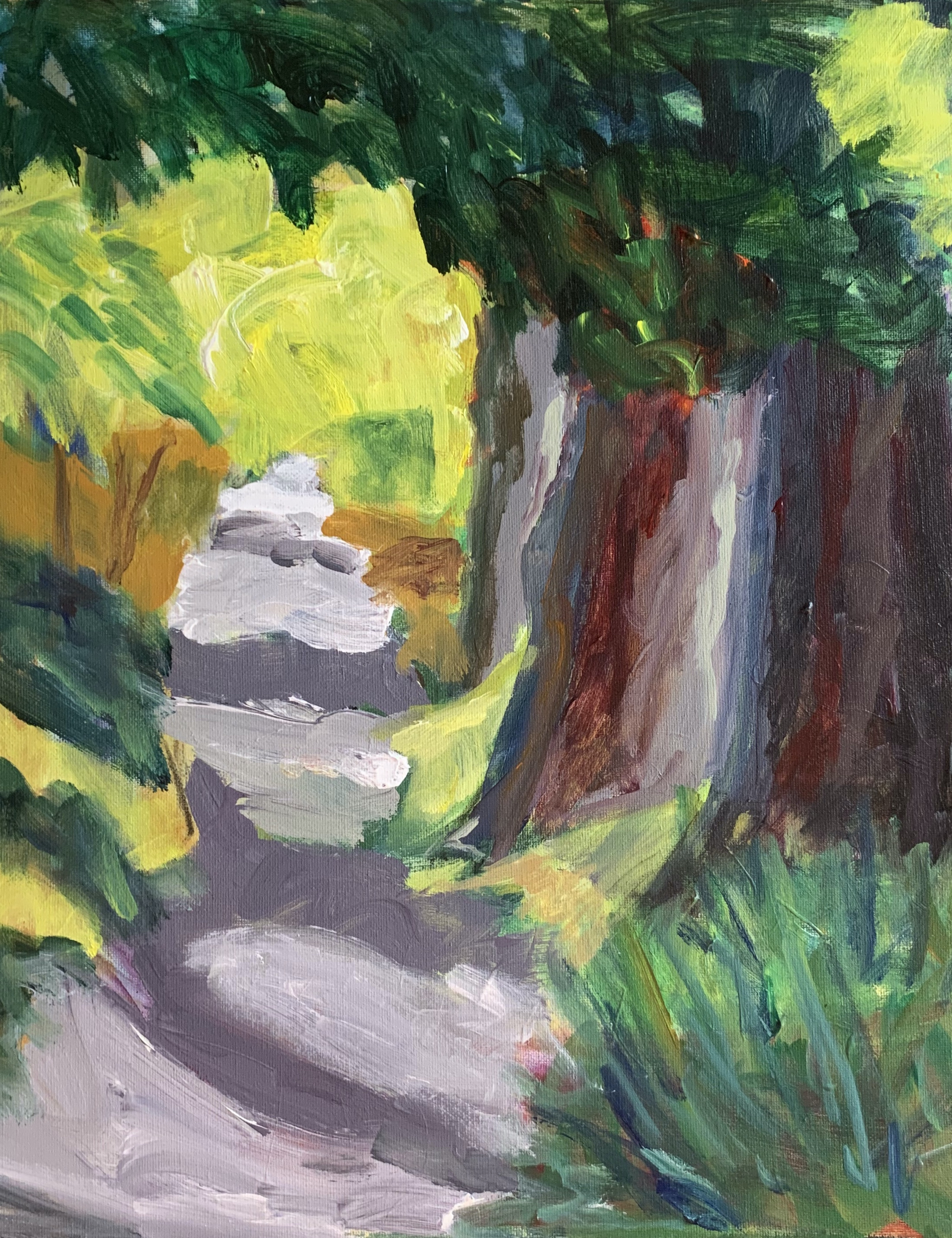 City Redwoods, Archival Gallery 20 x 16