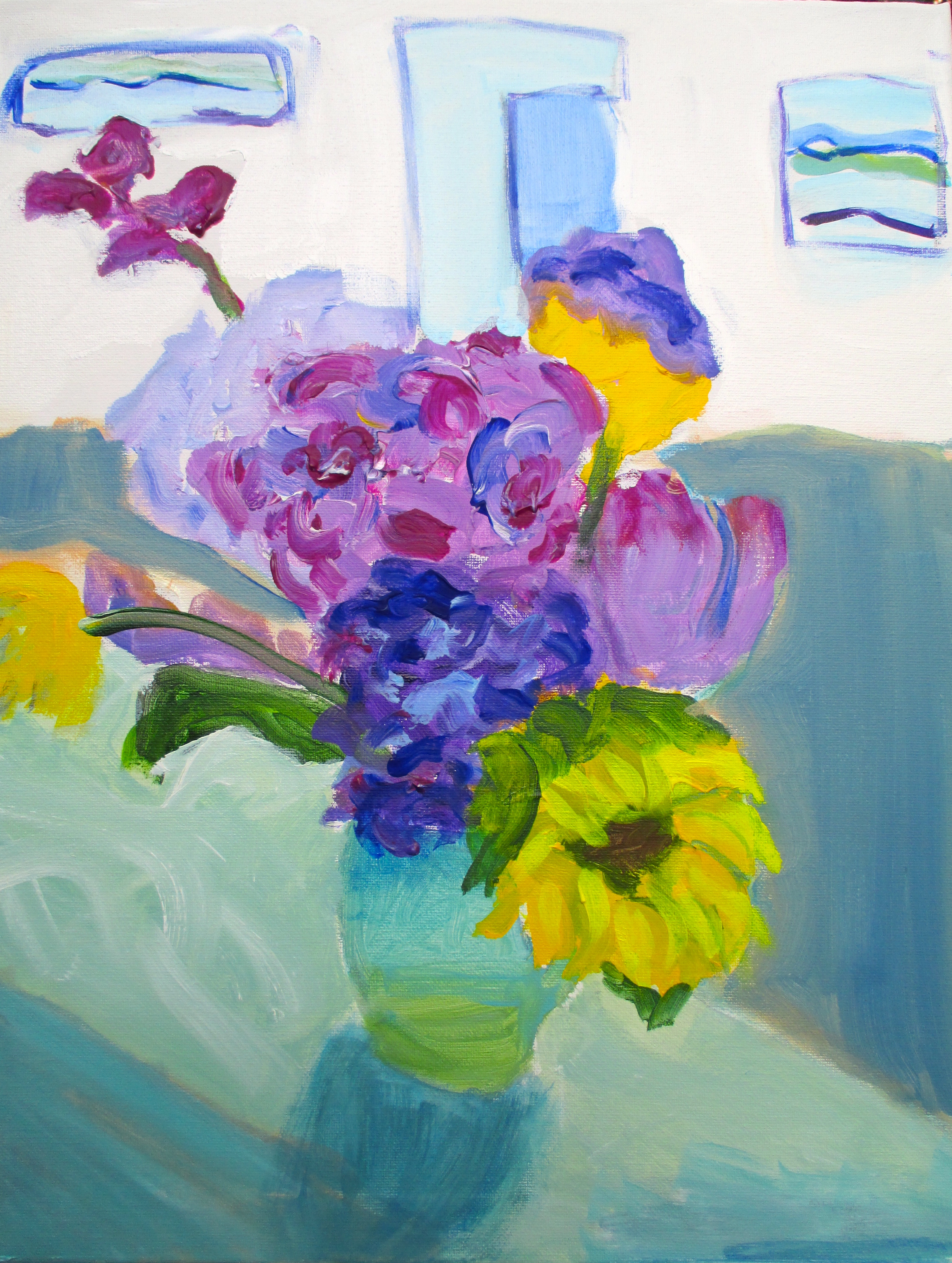 enhanced flowers on green table.jpg