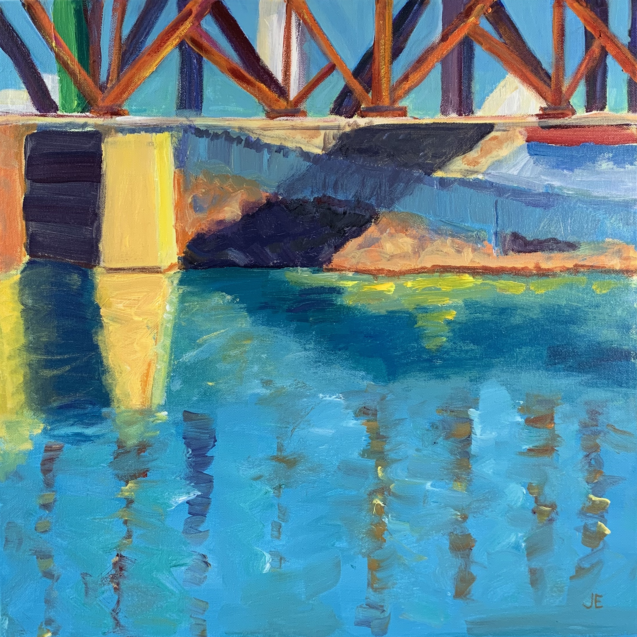 I Street Bridge, 20 x 20, SOLD